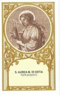SANTINO S.AUREA MARTIRE DI OSTIA  -FESTA 24 AGOSTO - Santini