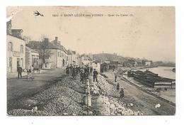 CPA 58 SAINT LEGER DES VIGNES Quai Du Canal (2) - Francia