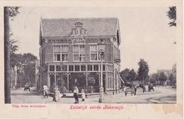 Beverwijk, Zuidelijk Entree.Cafe Bellevue. - Beverwijk