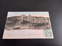 CPA (60) Clermont, Vue Panoramique.  Colorisée. (H.989). - Clermont