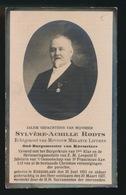 BURGEMEESTER KNESSELARE - SYLVERE RODTS - KNESSELARE 1853 - 1927 - Décès