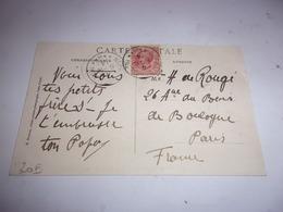 20 CORSE VOYAGEE TIMBRE 1914 REGAL DES CHATAIGNES FORET DE VALDONIELLO - Autres Communes