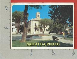 CARTOLINA VG ITALIA - PINETO (TE) - Piazza Libertà - 10 X 15 - 2000 MUSEO POSTE E TELECOMUNICAZIONI - Teramo