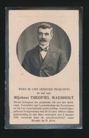 SCHEPEN KNESSELARE - THEOFIEL MAENHOUT  - KNESSELARE 1864 - 1932 - Décès
