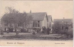 Ederveen, Openbare School, Groeten Uit.. - Ede