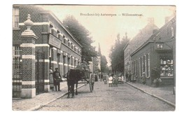 BOECHOUT BOUCHOUT Bij Antwerpen  Willemstraat Magasin  Attelage Chevaux - Boechout