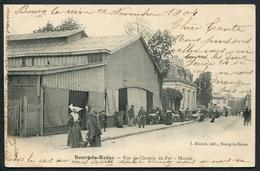 Bourg-la-Reine - Rue Du Chemin De Fer - Marché - Edit. J. Blunck - Voir 2 Scans - Bourg La Reine