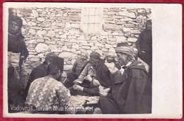 VODOVRAT (Gradsko) - Turken Beim Kartenspiel - Turk Playing Cards. Macedonia 08/23 - Macédoine