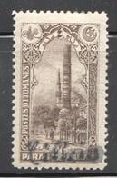 CILICIE  1919  Colonne De Constantin    - Surcharge  Cursive  Yv 49 * MH - Unused Stamps