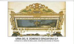 SANTINO  URNA DEL B.DOMENICO SPADAFORA O.P. -CHIESA DI S. MARIA IN RECLAUSO,MONTECERIGNONE DI PESARO - Santini