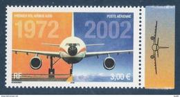 Poste Aérienne N° 65 A , Anniversaire Du 1er Vol De L'Airbus A 300 Provenant De La Feuille De 10 Timbres , Port Gratuit - 1960-.... Mint/hinged