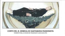 SANTINO  CORPO DEL B.GRIMOALDO SANTAMARIA PASSIONISTA - Santini