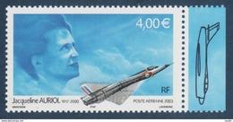 Poste Aérienne N° 66 A , Jacqueline Auriol , Provenant De La Feuille De 10 Timbres , Port Gratuit - 1960-.... Neufs