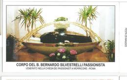 SANTINO  CORPO DEL B.BERNARDO SILVESTRELLI PASSIONISTA - Santini