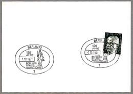 125 Años FISCALIA DE BERLIN - BERLIN PUBLIC PROSECUTOR. Berlin 1971 - Profesiones