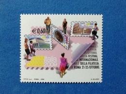 2009 ITALIA FESTIVAL FILATELIA 0,60 FRANCOBOLLO NUOVO STAMP NEW MNH** - 6. 1946-.. Repubblica