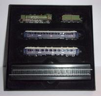"""Minitrains """"Le Train Bleu"""" - 1/220è - Éditions Atlas - Scale Models"""