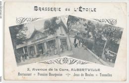 Savoie Albertville - 2 Avenue De La Gare Restaurant Jeux De Boules - Brasserie De L'Etoile - Albertville