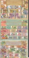 Belarus Weissrussland MNH** 2019 History Of Banknotes Of Belarus  Mi 1319-21  Maximum Card - Belarus