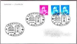 Matasellos ESPAMER'87 - DIA DE LA LITERATURA FILATELICA. La Coruña, Galicia, 1987 - 1931-Hoy: 2ª República - ... Juan Carlos I