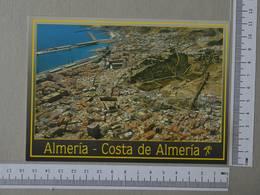 SPAIN - COSTA -  ALMERIA -   2 SCANS     - (Nº32700) - Almería