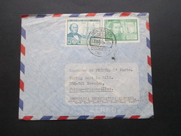 Südamerika Chile 1969 Luftpost In Die DDR Nach Dresden Stempel Concepcion Desp. Correos Chile - Chile
