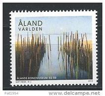Aland 2013 N°369 Neuf Musée D'arts - Aland