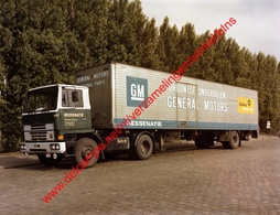 Bedford Vrachtwagen Hessenatie In Juli 1978 - Photo 15x23cm - Originele Onderdelen General Motors GM Antwerpen - Automobiles