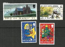Ile De Man N°871, 916, 934, 935 Cote 4.25 Euros - Isle Of Man