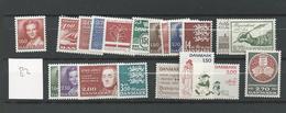 1982 MNH Denmark, Year Complete Postfris** - Danimarca