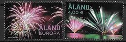 Aland 2018 N° 460/461 Neufs Feux D'artifice - Aland