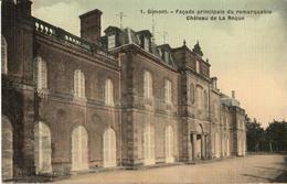32 - GIMONT - FAÇADE PRINCIPALE DU REMARQUABLE CHÂTEAU DE LA ROQUE - France