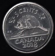 CANADA - 2018 Circulating 5¢ Coin - Canada