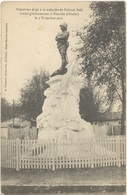 FRANCE. OLD POSTCARD. VITRY. MONUMENT COLONEL MOLL. 1916 - Francia