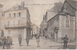 CPA Allassac - Avenue Du Saillant (avec Animation) - Autres Communes