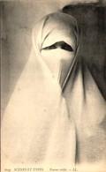 Algérie - Scènes Et Types - Femme Voilée - Women