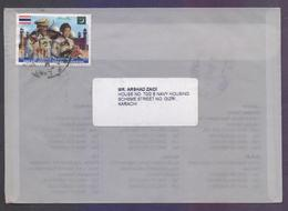 STATE VISIT OF KING AND QUEEN OF THAILAND, Postal History Cover From PAKISTAN, Used 5.8.2013 - Pakistan