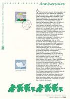 FRANCE - DOCUMENT OFFICIEL ANNIVERSAIRE BABAR CAD PARIS DU 19/06/2006 - Documents De La Poste