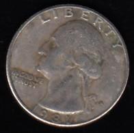 USA -  1981 Circulating 25¢ Coin - 1932-1998: Washington