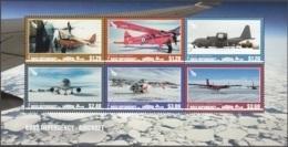 Ross Depency 2018 Bloc Feuillet Les Transport Aèriens En Régions Polaires Neuf ** - Dépendance De Ross (Nouvelle Zélande)