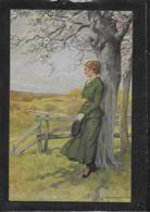 AK 0380  Borrmeister , R. - Sehnsucht / Künstlerkarte Um 1917 - Malerei & Gemälde