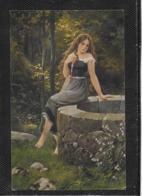 AK 0380  Borrmeister , R. - Am Brunnen / Künstlerkarte Um 1917 - Malerei & Gemälde