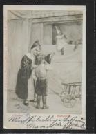 AK 0380  Doubek , F. - Kasperltheater / Künstlerkarte Um 1903 - Humor