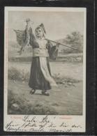 AK 0380  Doubek , F. - Fastenspeise / Künstlerkarte Um 1903 - Humor
