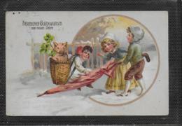 AK 0380  Herzlichen Glückwunsch Zum Neuen Jahre Um 1919 - Neujahr