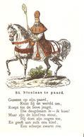 303) Saint-Nicolas - Sinterklaas - Zeer Goede Staat - L'état Très Bon ! - 10 X 15 Cm - Saint-Nicolas