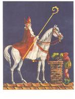 307) Saint-Nicolas - Sinterklaas - Zeer Goede Staat - L'état Très Bon ! - 10 X 15 Cm - Saint-Nicolas