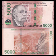 Armenia 5000 (5,000) Dram, 2018, P-NEW, UNC - Armenien