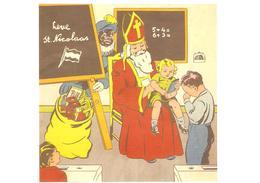 308) Saint-Nicolas - Sinterklaas - Zeer Goede Staat - L'état Très Bon ! - 10 X 15 Cm - San Nicolás