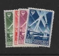 1938 MNH Yugoslavia,. - Unused Stamps